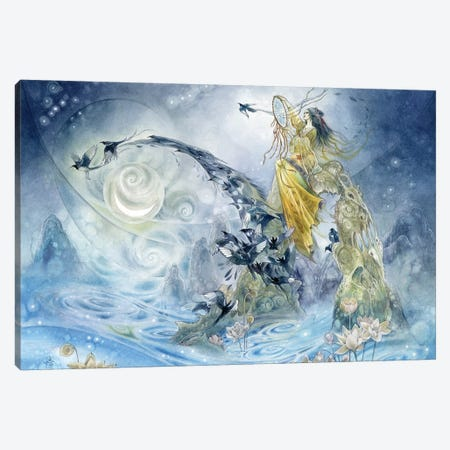 Weaver Canvas Print #SLW170} by Stephanie Law Canvas Art Print