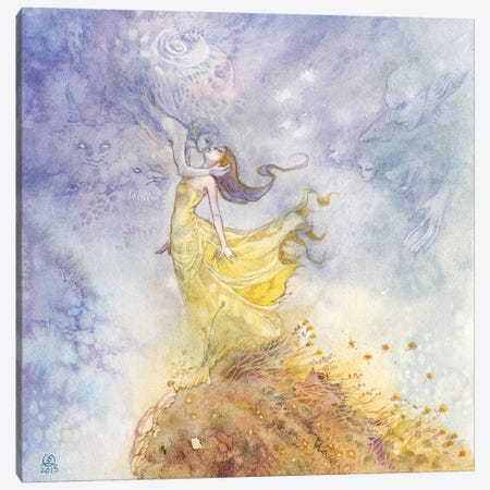 Wind-Kissed Canvas Print #SLW177} by Stephanie Law Canvas Artwork