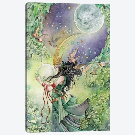 World Canvas Print #SLW181} by Stephanie Law Canvas Wall Art