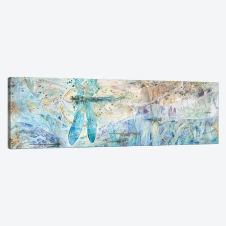 Against The Flow Canvas Print #SLW183} by Stephanie Law Canvas Wall Art