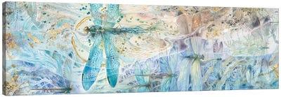 Against The Flow Canvas Art Print