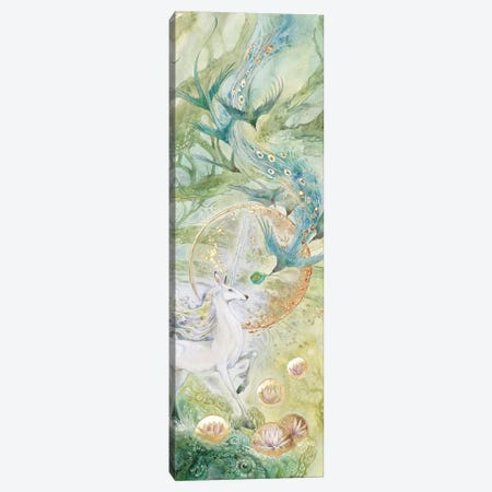 A Meeting Of Tangled Paths III Canvas Print #SLW188} by Stephanie Law Canvas Artwork
