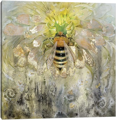 Bee Canvas Art Print