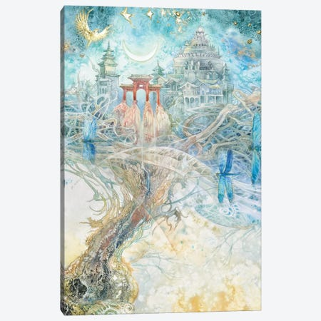 Aspirations II Canvas Print #SLW192} by Stephanie Law Canvas Art Print