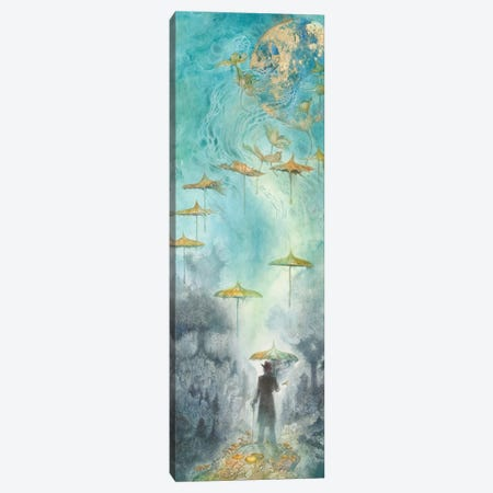 As The World Turns II Canvas Print #SLW194} by Stephanie Law Canvas Art