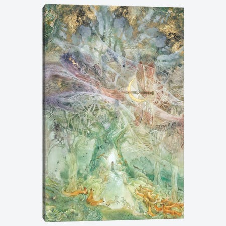 Convergence I Canvas Print #SLW197} by Stephanie Law Canvas Artwork