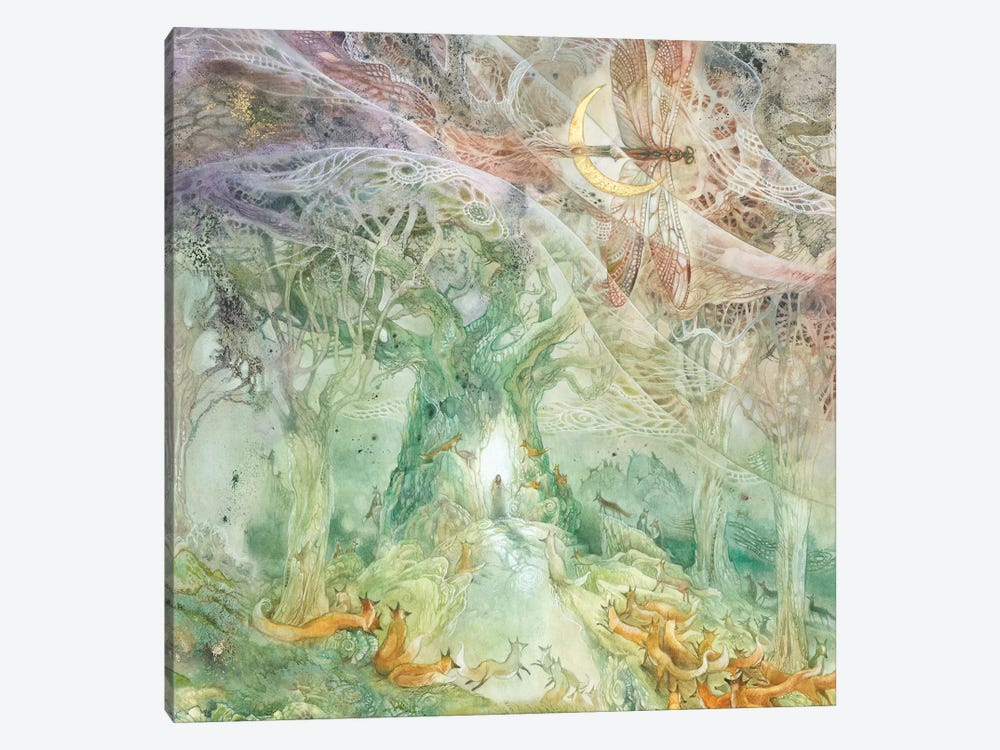 Convergence II by Stephanie Law 1-piece Canvas Art Print