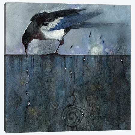 For Sorrow Canvas Print #SLW1} by Stephanie Law Canvas Art