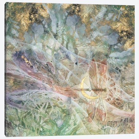 Convergence IV Canvas Print #SLW200} by Stephanie Law Art Print