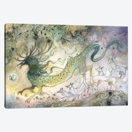 Chasing The Light Canvas Print #SLW203} by Stephanie Law Art Print