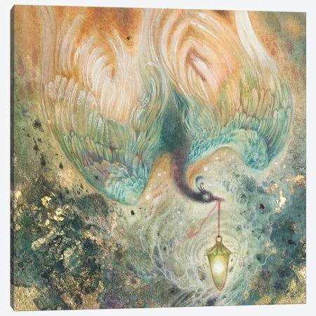 Ember Thief Canvas Print #SLW204} by Stephanie Law Canvas Artwork
