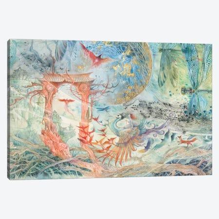 The Gate Canvas Print #SLW208} by Stephanie Law Art Print