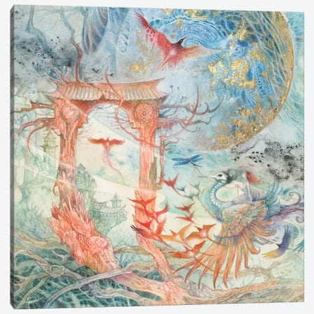 The Gate II Canvas Print #SLW209} by Stephanie Law Art Print