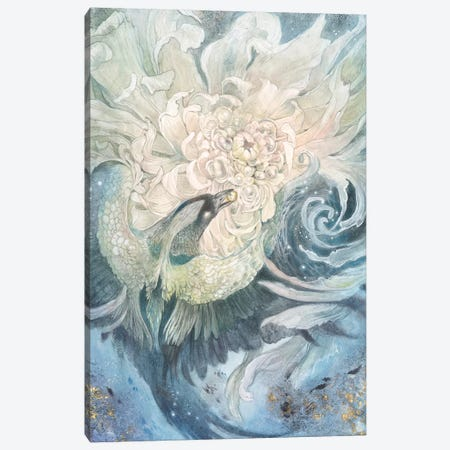 In The Gardens Of The Moon II Canvas Print #SLW211} by Stephanie Law Canvas Wall Art