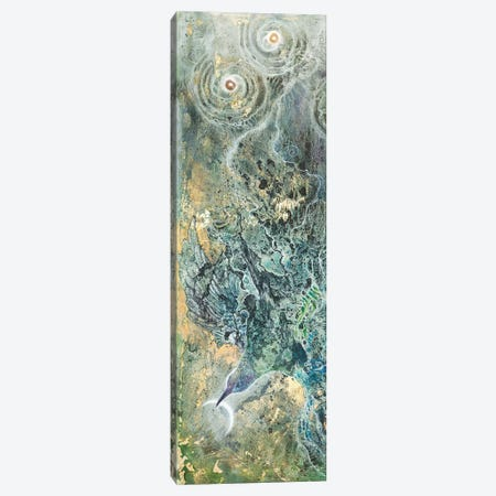 Moon Slivers II Canvas Print #SLW214} by Stephanie Law Canvas Art Print
