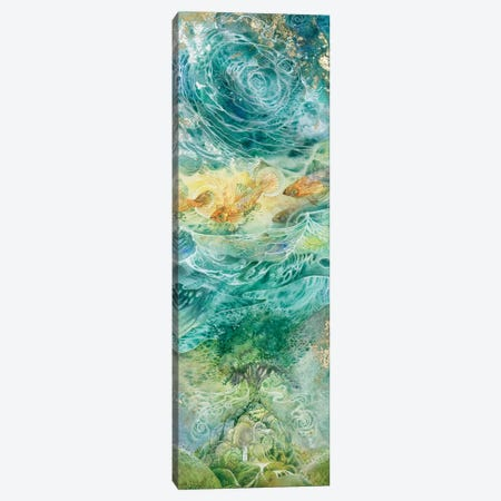 Inversions I Canvas Print #SLW224} by Stephanie Law Canvas Art