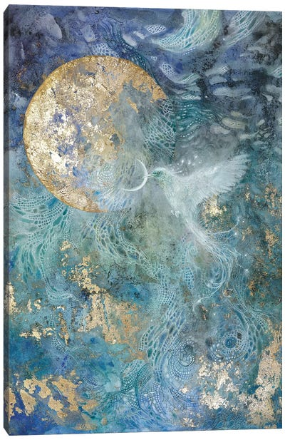 Slivers Of The Moon I Canvas Art Print