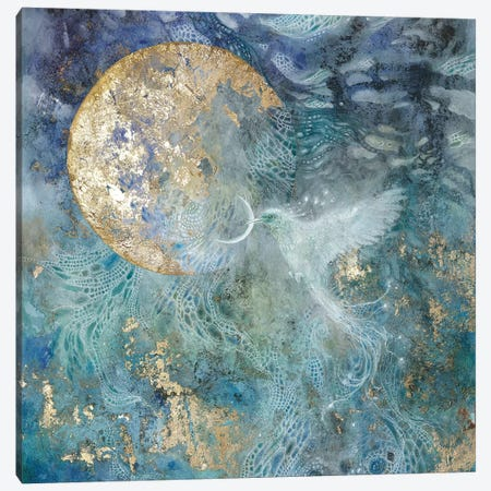 Slivers Of The Moon II Canvas Print #SLW239} by Stephanie Law Canvas Artwork