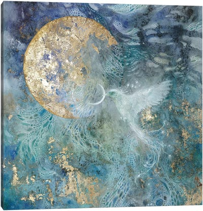 Slivers Of The Moon II Canvas Art Print