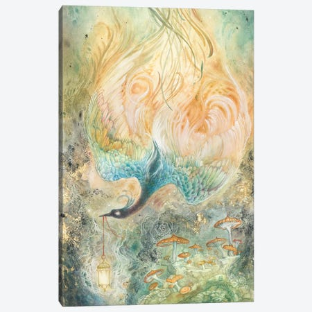 Stealing Embers II Canvas Print #SLW241} by Stephanie Law Canvas Print