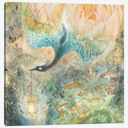 Stealing Embers II Canvas Print #SLW242} by Stephanie Law Canvas Print