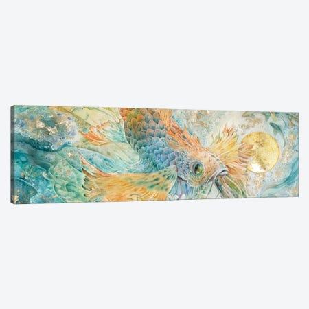 The Blue Below II Canvas Print #SLW250} by Stephanie Law Canvas Art