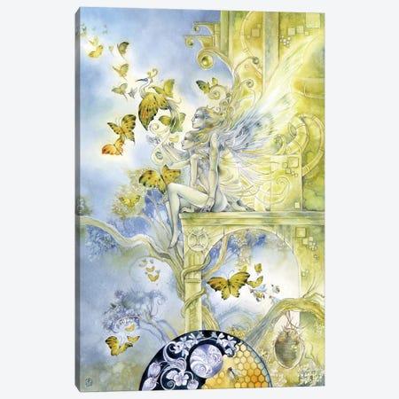 Gemini Canvas Print #SLW259} by Stephanie Law Canvas Art