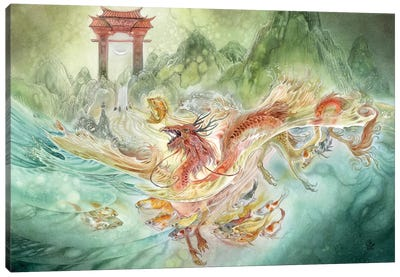 Carp Canvas Art Print