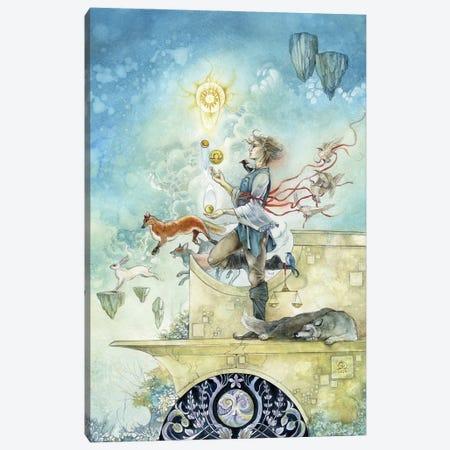 Libra Canvas Print #SLW261} by Stephanie Law Canvas Art Print