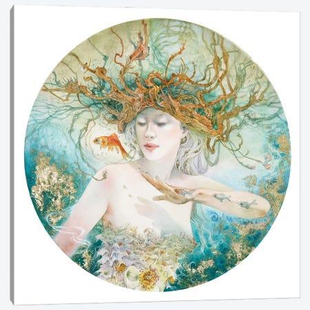 Entertaining The Daydream Canvas Print #SLW265} by Stephanie Law Canvas Wall Art
