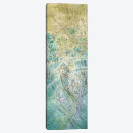 Reaching For The Light Canvas Print #SLW278} by Stephanie Law Canvas Wall Art