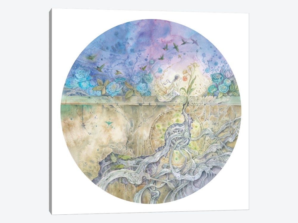 Whispered Lullaby by Stephanie Law 1-piece Canvas Artwork