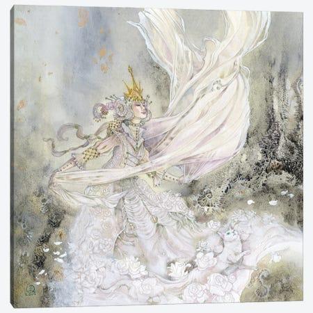 Wonderland - White Queen Canvas Print #SLW282} by Stephanie Law Canvas Print