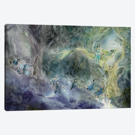 Chasing A Dream Canvas Print #SLW28} by Stephanie Law Canvas Art