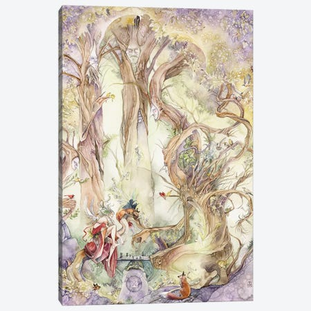 Chess Canvas Print #SLW29} by Stephanie Law Canvas Artwork