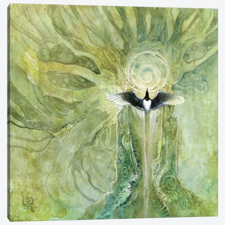 For Joy Canvas Print #SLW2} by Stephanie Law Canvas Wall Art