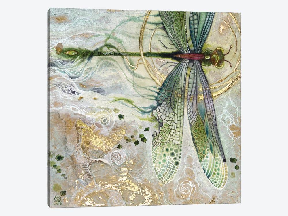 Damsel Fly II by Stephanie Law 1-piece Canvas Wall Art