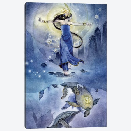 Dance Canvas Print #SLW36} by Stephanie Law Canvas Art