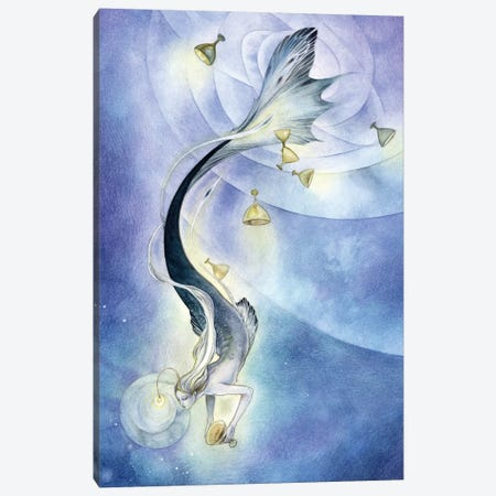 Delving Canvas Print #SLW40} by Stephanie Law Canvas Wall Art