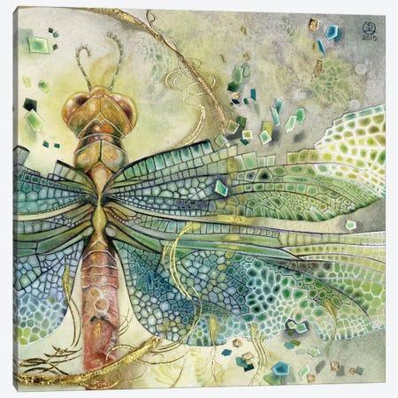 Disintegration Canvas Print #SLW42} by Stephanie Law Canvas Artwork
