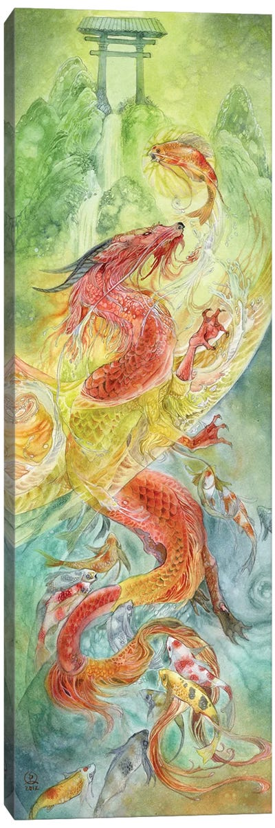 Dragongate Canvas Art Print