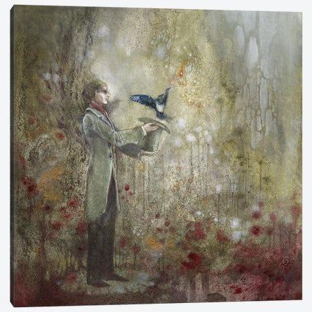 For A Boy Canvas Print #SLW4} by Stephanie Law Art Print