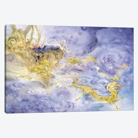 Dragons Canvas Print #SLW50} by Stephanie Law Canvas Art Print