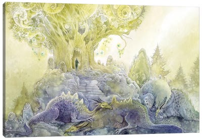 Dragons Dream Canvas Art Print