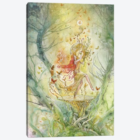 Effervesce Canvas Print #SLW54} by Stephanie Law Canvas Wall Art