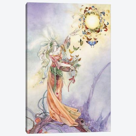 Empress Canvas Print #SLW56} by Stephanie Law Canvas Art