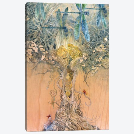 Entangle Canvas Print #SLW57} by Stephanie Law Canvas Wall Art