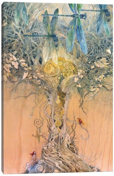 Entangle Canvas Art Print