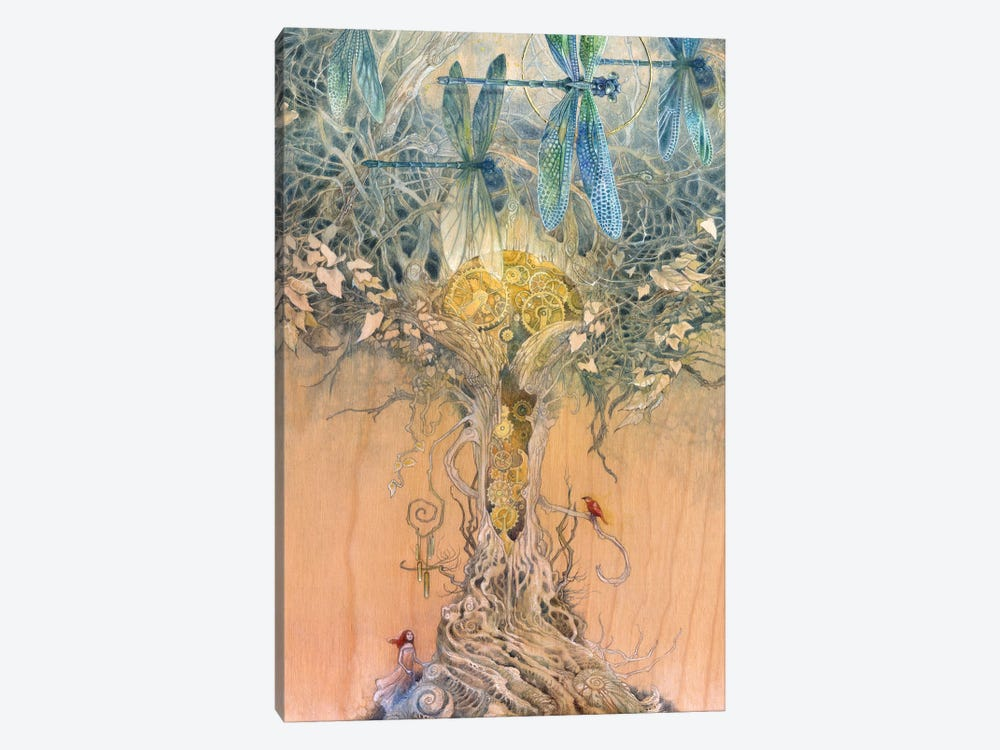 Entangle by Stephanie Law 1-piece Canvas Art Print