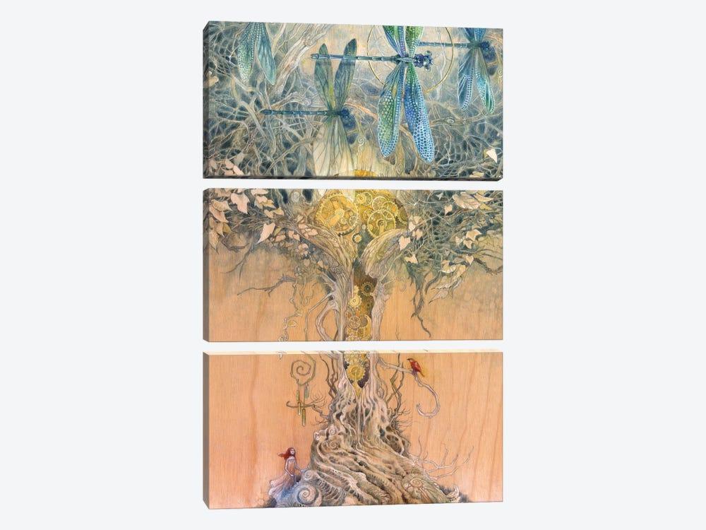 Entangle by Stephanie Law 3-piece Art Print